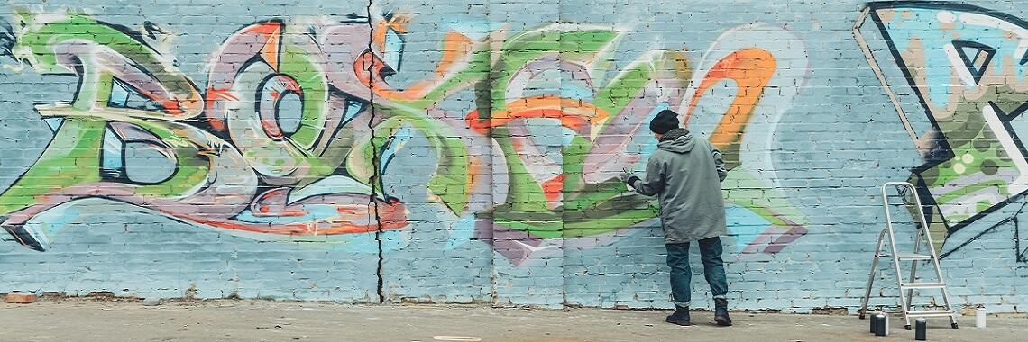 Graffiti spuiten