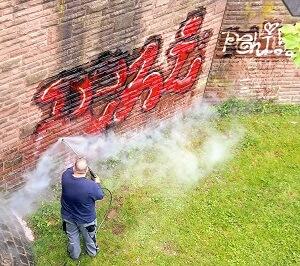 Graffiti verwijderen schoonmaken